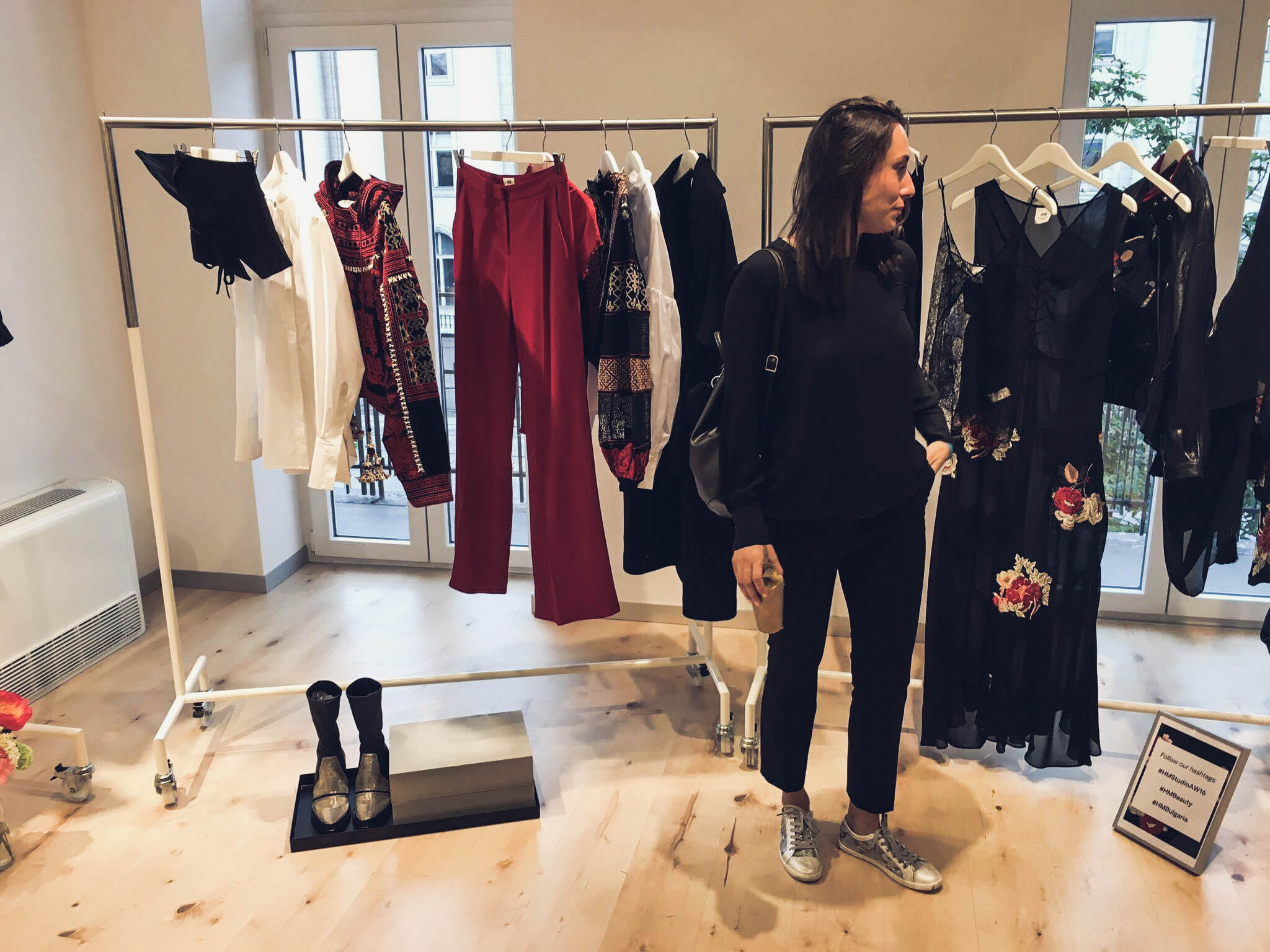 H&M Studio AW16 launch event by Bulgarian fashion blogger Quite a Looker