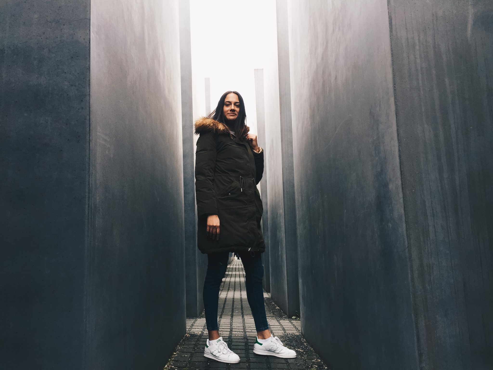 Bulgarian blogger Michaella from Quite a Jewish monument / Looker in Berlin, May 2017