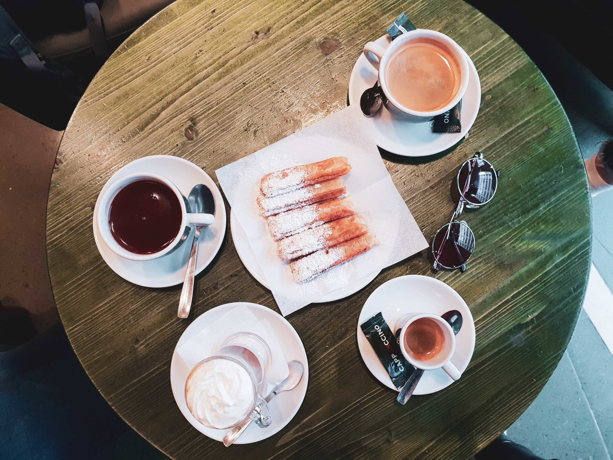 Barcelona travel guide by Michaella and Lina from Bulgarian lifestyle blog Quite a Looker / Churros