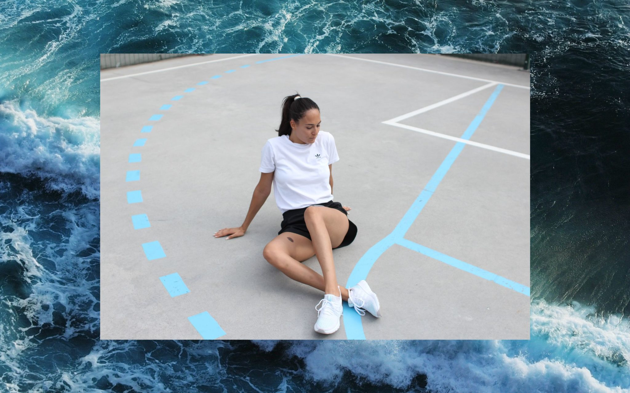 adidas x Parley for the oceans sneakers collaboration Bulgarian Blogger Michaella Quite a Looker