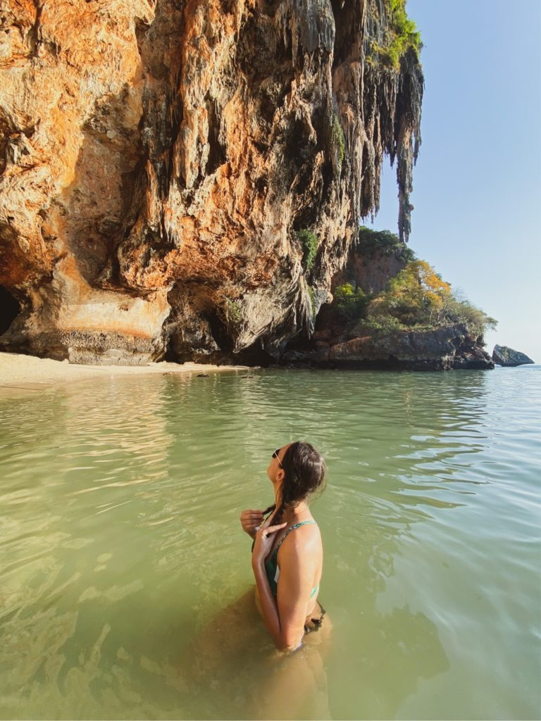 Phra Nang in Railay Beach, Krabi | Everything you need to know to spend a great holiday in Railay | Travel Blogger tips Michaella from Quite a Looker