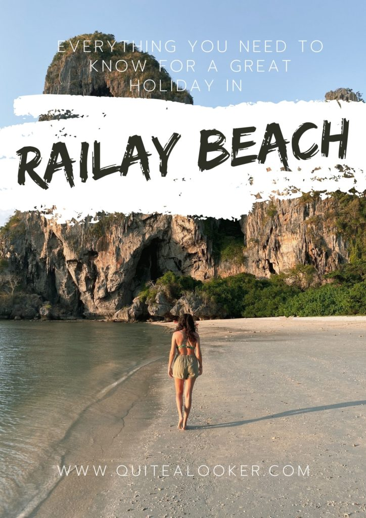 Phra Nang in Railay Beach, Krabi   Everything you need to know to spend a great holiday in Railay   Travel Blogger tips Michaella from Quite a Looker Pinterest